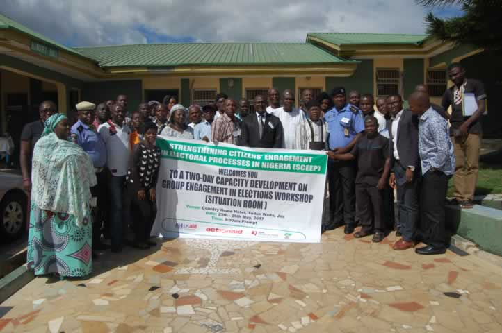 Capacity development group engagement in elections workshop2