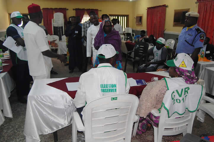 Capacity development group engagement in elections workshop